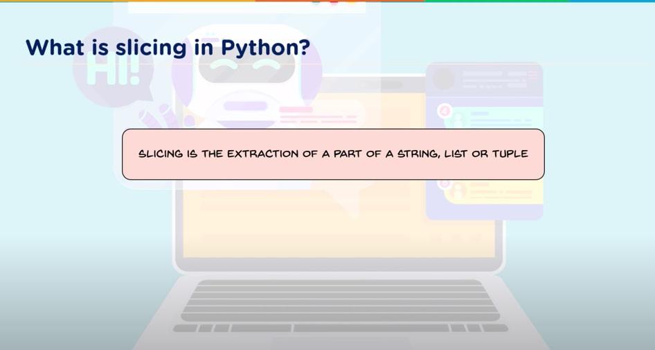 Slicing in Python